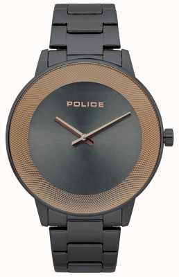 Police Orologio minimalista da uomo in acciaio inossidabile 15386JSU/61M
