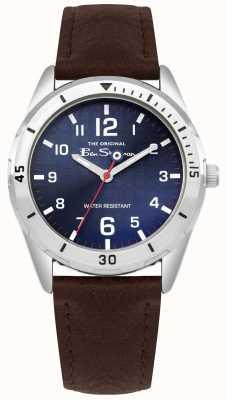 Ben Sherman Portafogli per bambini marrone e orologio da regalo BSK002UBRG