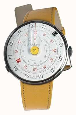 Klokers Klok 01 cinturino giallo per orologio giallo nuovo cinturino singolo KLOK-01-D1+KLINK-01-MC7.1