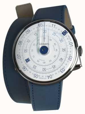 Klokers Klok 01 blu cinturino doppio blu indaco per orologio KLOK-01-D4.1+KLINK-02-380C3
