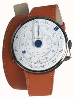 Klokers Klok 01 cinturino blu orologio 420mm doppio cinturino KLOK-01-D4.1+KLINK-02-420C8