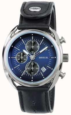 Breil Cinturino cronografo quadrante blu in acciaio inossidabile Beaubourg TW1528