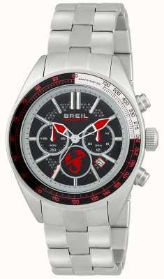 Breil Cronografo Abarth in acciaio inossidabile quadrante nero e rosso TW1692
