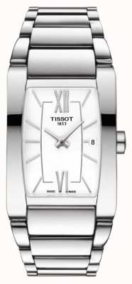 Tissot Quadrante bianco in acciaio inossidabile generosi-t T1053091101800