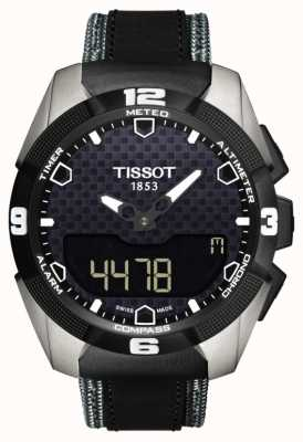 Tissot Mens t-touch expert solar titanium twin sensor leather T0914204605101