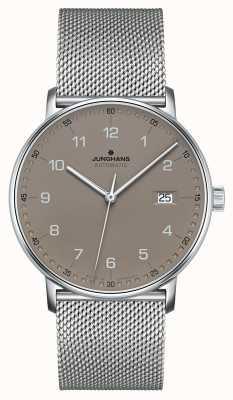 Junghans Forma un braccialetto automatico a maglia milanese 027/4836.44