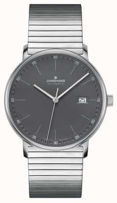 Junghans Forma un orologio automatico con cinturino in acciaio inossidabile 027/4833.44