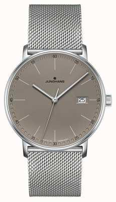Junghans Orologio Form con quadrante grigio al quarzo 041/4886.44