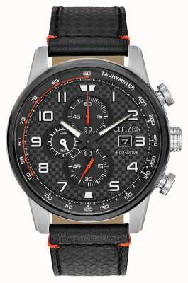 Citizen Display cronografo sportivo da uomo con quadrante secondario da 24 ore CA0681-03E