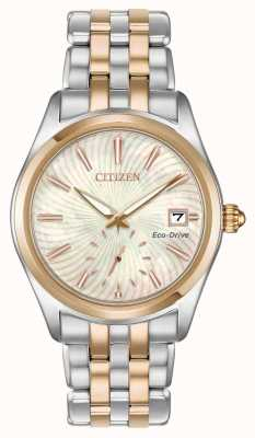 Citizen Quadrante in madreperla con quadrante ricurvo bicolore EV1036-51Y
