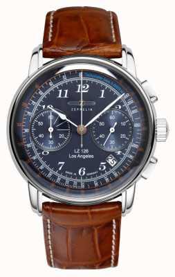 Zeppelin Tachimetro del cronografo di Los Angeles 7614-3