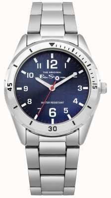 Ben Sherman Portafogli per bambini blu e orologio da regalo BSK002USM