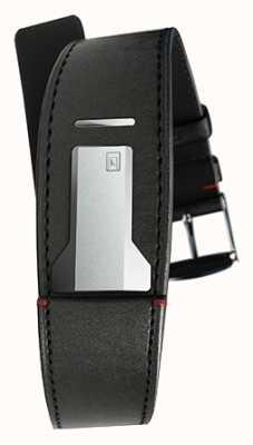 Klokers Klink 01 cinturino nero satinato solo 22mm largo 230mm KLINK-01-MC1