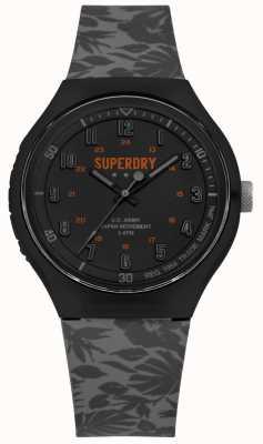 Superdry Cinturino in silicone urban xl tropic camo grigio SYG225E