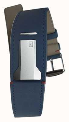 Klokers Cinturino blu indaco Klink 01 di soli 22 mm di larghezza 230 mm di lunghezza KLINK-01-MC3