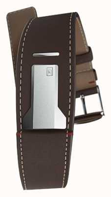 Klokers Klink 01 cinturino marrone cioccolato solo 22 mm di larghezza 230 mm di lunghezza KLINK-01-MC4