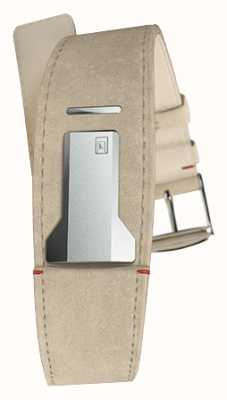 Klokers Cinturino in alcantara grigio Klink 01 di soli 22 mm di larghezza 230 mm di lunghezza KLINK-01-MC6