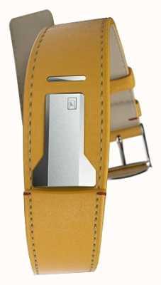 Klokers Klink 01 newport cinturino giallo solo 22mm largo 230mm lungo KLINK-01-MC7.1