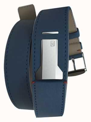 Klokers Doppia cinturino blu indaco Klink 02 di soli 22mm di larghezza 420mm di lunghezza KLINK-02-420C3