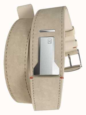 Klokers Cinturino doppio alcantara grigio Klink 02 solo 22mm largo 420mm KLINK-02-420C6