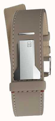 Klokers Klink 04 grege cinturino singolo solo 22mm largo 230mm KLINK-04-LC9