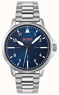 Hugo Boss Orange Bracciale in acciaio inossidabile con quadrante blu 1550063
