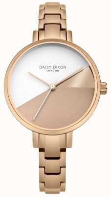 Daisy Dixon Bracciale da donna in oro rosa con quadrante in oro rosa ava rosa DD065RGM