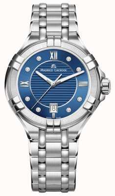 Maurice Lacroix Quadrante blu acciaio donna aikon 35mm AI1006-SS002-450-1