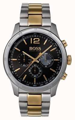 Hugo Boss Orologio da uomo cronografo professionale cinturino bicolore 1513529