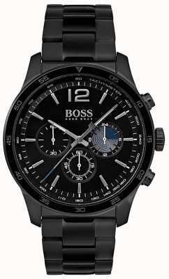 Hugo Boss Bracciale da uomo con cronografo professionale in ferro placcato 1513528