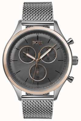 Hugo Boss Orologio da uomo cronografo cronografo grigio 1513549