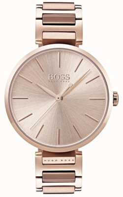 Hugo Boss Orologio da donna con allure in oro rosa 1502418