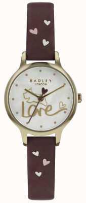 Radley Cinturino in pelle con cinturino in pelle placcato oro RY2578