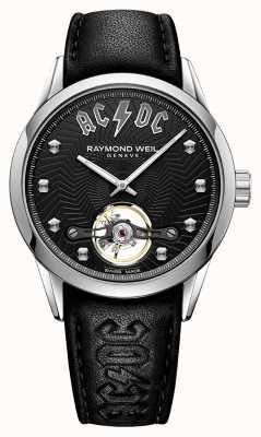 Raymond Weil Quadrante nero limited edition acdc freelance 2780-STC-ACDC1