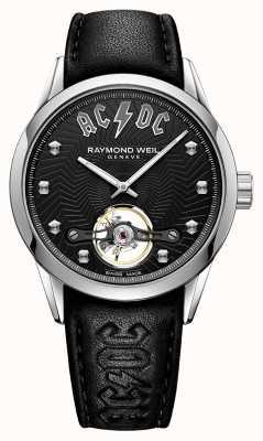 Raymond Weil Freelancer acdc quadrante nero in edizione limitata 2780-STC-ACDC1