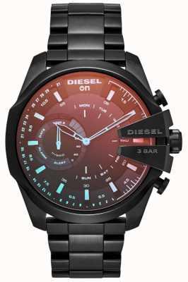 Diesel Bracciale in ferro placcato da uomo con smartwatch ibrido da megachief DZT1011