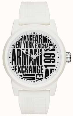 Armani Exchange Cinturino in silicone per uomo AX1442