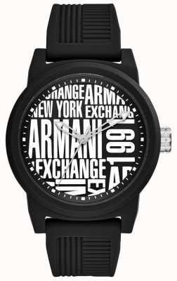 Armani Exchange Cinturino in silicone per uomo AX1443