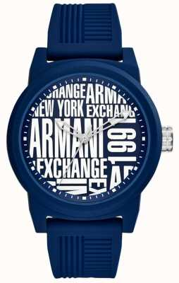 Armani Exchange Cinturino in silicone per uomo AX1444