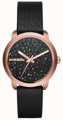 Diesel Cinturino in pelle con racchetta da donna DZ5520