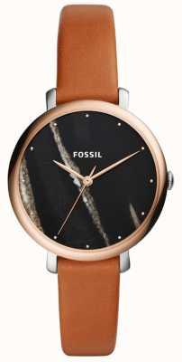 Fossil Cinturino in pelle jacqueline da donna ES4378