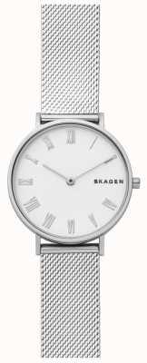 Skagen Womens hald cinturino in maglia di acciaio inossidabile SKW2712