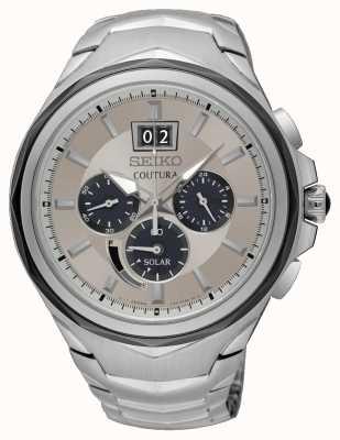 Seiko Orologio da uomo cronografo da uomo cronografo in acciaio inossidabile SSC627P9