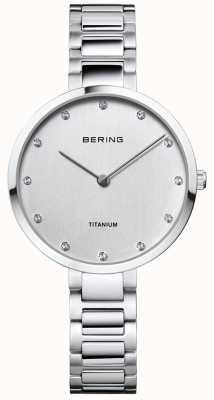 Bering Cassa e bracciale in titanio con cristallo 11334-770