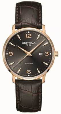 Certina Ds caimano uomo 39mm quarzo rosa oro C0354103608700