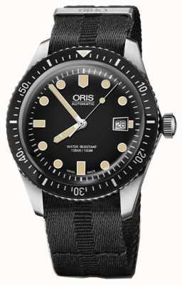 Oris Divers sessantacinque cinturino automatico nero con cinturino nero 01 733 7720 4054-07 5 21 26FC