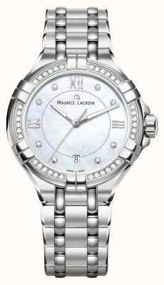 Maurice Lacroix Eliros ladies moonphase madreperla acciaio inossidabile EL1096-SD502-170-1