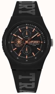 Superdry Cinturino in silicone nero xl Urban SYG188BRG