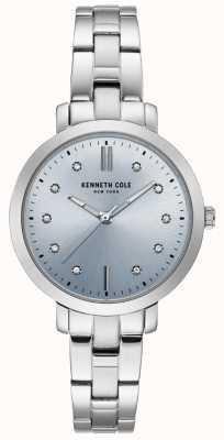 Kenneth Cole Orologio da donna con cassa e bracciale in acciaio inossidabile KC15173004