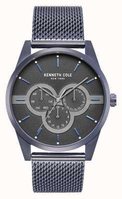 Kenneth Cole Cassa in acciaio inossidabile con cinturino in acciaio inossidabile KC15205003